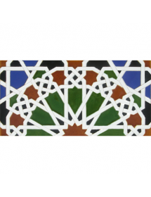 Azulejo Árabe relieve MZ-039-00