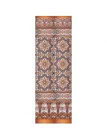 Mosaïque sévillan cuivre MZ-M038-941